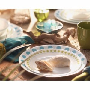 Corelle Livingware 16-Piece Dinnerware Set, South Beach - Walmart.com