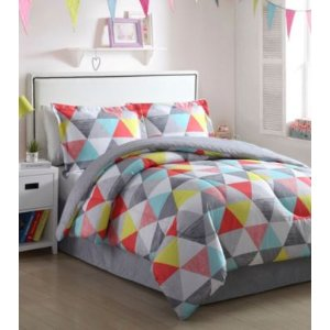 LivingQuarters Darby 4-pc. Comforter Set