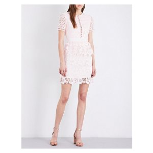 TED BAKER Dixa layered lace mini dress