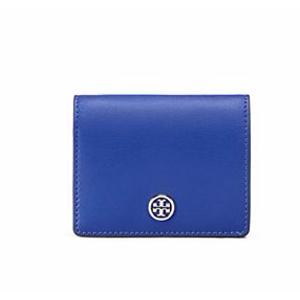 Tory Burch 蓝色小钱包