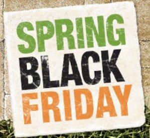 Super saving!Spring Black Friday sale  @ HomeDepot