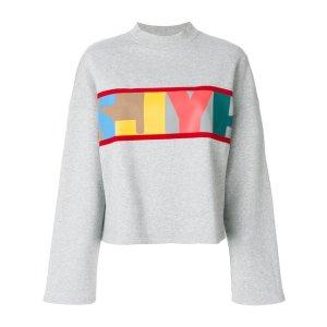SJYP logo print sweatshirt