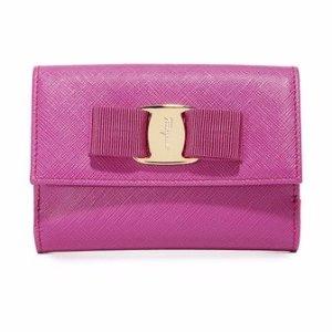 Salvatore Ferragamo Miss Vara Bow Wallet | SHOPBOP