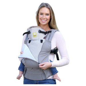 6-Position COMPLETE All Seasons Baby & Child Carrier - Stone