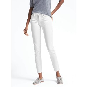 Stay White Skinny Ankle Jean | Banana Republic