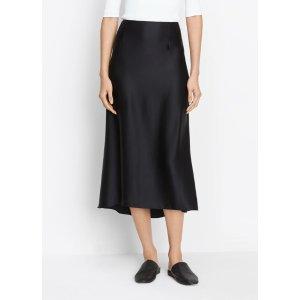 Silk Satin Slip Skirt for Women | Vince