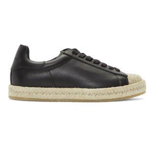 Alexander Wang: Black Rian Espadrille Sneakers