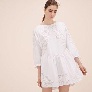 RAOLITA Loose-fitting dress with embroidery - Dresses - Maje.com