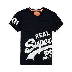 Superdry Vintage Logo Wrap Around T-shirt - Men's T Shirts