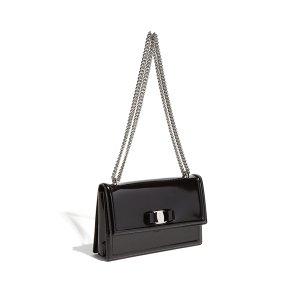 Patent Vara Flap Bag