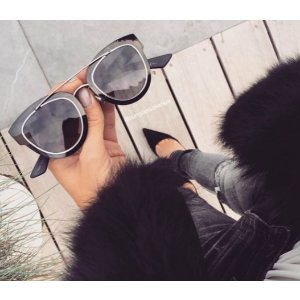 Dior - Chromic 47MM Cat's-Eye Sunglasses - saks.com