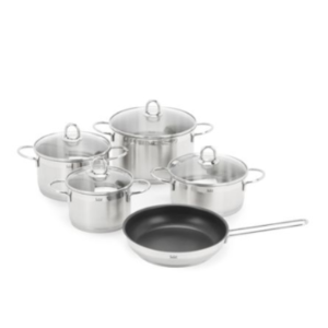 WMF - Diamant Stainless Steel Cookware- Set of 5 - saksoff5th.com