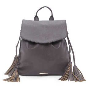Backpack With Tassel Detail
