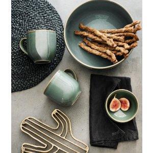 Stoneware Mug | Dusky green | H&m home | H&M US