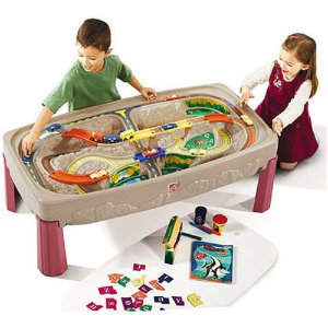 $73.97Step2 Deluxe Canyon Road Train and Track Table, Includes 6-Piece Train Set