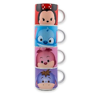 Disney® Tsum Tsum 4-Piece Stacking Mug Set