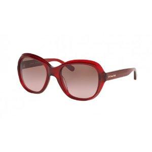Coach Brown Rose Gradient Sunglasses - Coach - Sunglasses - Jomashop