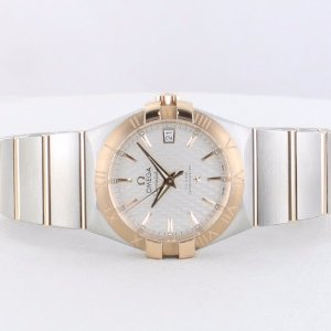$3795OMEGA Constellation Automatic Two-tone Stainless Steel Men's Watches@JomaShop.com