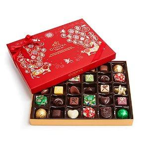 节日巧克力礼盒, 32粒