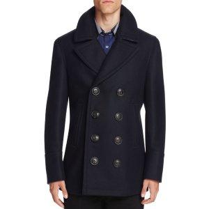 Burberry Kirkham Pea Coat | Bloomingdale's