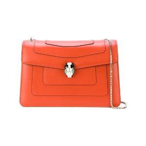 Bulgarisilver-tone chain shoulder bag