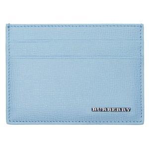 Burberry Blue Sandon Card Holder