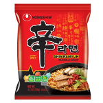Nongshim Shin Noodle Ramyun Gourmet Spicy, 4.2-oz. Packages, 20-Count