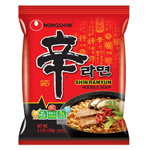 $16.23Nongshim Shin Noodle Ramyun Gourmet Spicy, 4.2-oz. Packages, 20-Count
