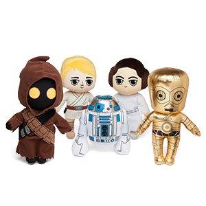 Star Wars 40th Anniversary Plush Sets - Exclusive