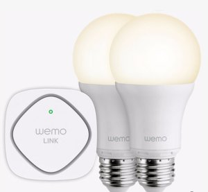 $14Belkin Wemo LED Lighting Starter Set