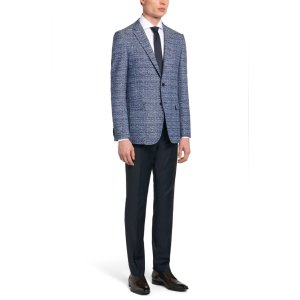 'Nobis' | Slim Fit, Cotton Blend Jacquard Sport Coat