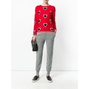 Chinti and Parker - All Over Heart Sweater | Kirna Zabete