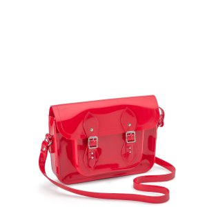11 Inch Red Melissa Satchel | The Cambridge Satchel Company