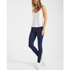The Farrah Skinny Ankle in Blue Obsidian Skinny Jeans