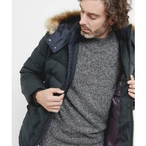 Down filled parka - Green | Jackets & Coats | Ted Baker