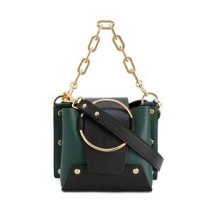 Mini Green Delila Bucket Bag