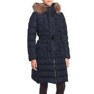 Khloe Fur-Trimmed Puffer Jacket