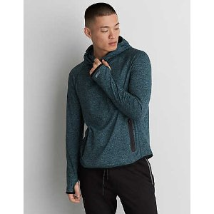 AE Active Hoodie, Aqua | American Eagle Outfitters