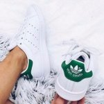 adidas  Stan Smith J Tennis Shoe (Big Kid)
