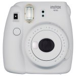Fujifilm Smokey White Instax Mini 9 Instant Camera