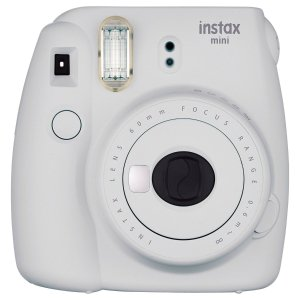 $55.99 Fujifilm Smokey White Instax Mini 9 Instant Camera