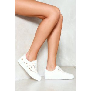 Starring Yours Truly Embellished Sneaker | Shop Clothes at Nasty Gal!