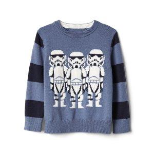 Gap | Star Wars™ intarsia crewneck sweater