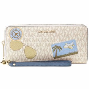MICHAEL Michael Kors Signature Fly Away Travel Continental Wallet - Handbags & Accessories - Macy's