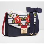 Aldo Buccini Cross Body Handbag, Navy Miscellaneous