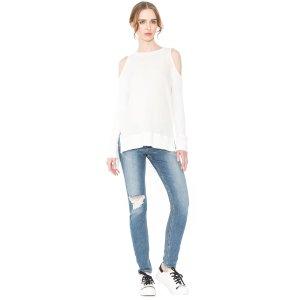 Landon Cold Shoulder Sweatshirt | Alice + Olivia