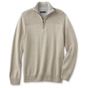 $9.99Simply Styled Men's Quarter-Zip Sweater