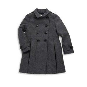 Little Girl's & Girl's Long-Sleeve Coat