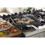 Calphalon Contemporary Hard-Anodized Aluminum Nonstick Cookware, Square Grill Pan