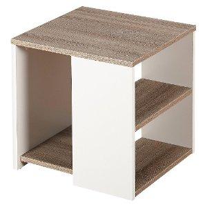 Urban End Table White/Sonoma Oak - TMS